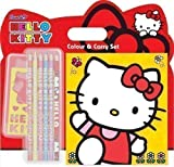 Geschenkidee Spielzeug - Kinder Hello Kitty Mal-und Stickerset Geschenk
