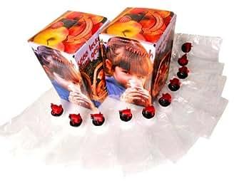 Set caisse-outre: 10 poches 5 litres & 2 caisses pour Bag-in-box