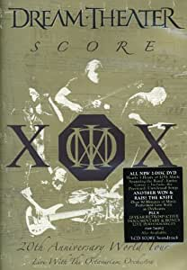 Dream Theater - Score: 20th Anniversary World Tour Live With The Octavarium Orchestra (2 DVDs)