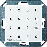 Gira 260503 Keyless In Codetastatur System 55, reinweiß