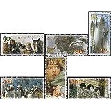 Nueva Zelanda 2040-2045 (completa.edición.) 2002 Sr. el Anillos (sellos para los coleccionistas)
