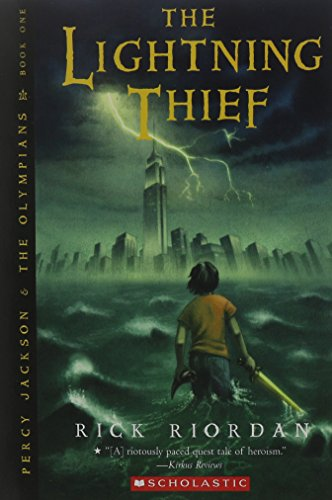 Book cover for The Lightning Thief