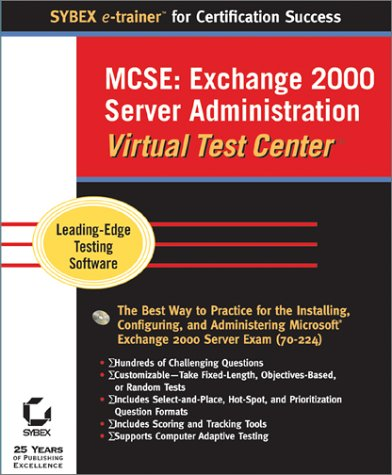 MCSE Exchange 2000 Server Administration Virtual Test Center