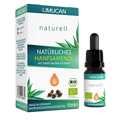 Premium Bio Essential Öl - zu 100{0db57e63fb88c9a8eb6a4d23f30e656809786d7a8e18087537be7877a357b508} natürliche Öl Tropfen mit 10 ml Inhalt - Made in Germany - GMP - vegan, laktosefrei, glutenfrei - frei von Konservierungsstoffen - 5