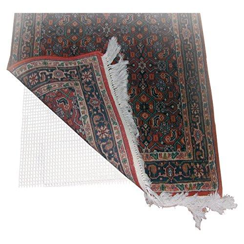 MSV MS436 - Antideslizante para alfombras, PVC, 60 x 100 cm, color blanco