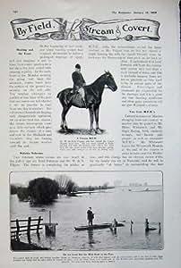 Marais 1908 de Pêche d'Homme de Cheval de Salis Filgate Afrique Mecque