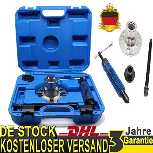 YIYIBY Hydraulik Radnaben Abzieher,40x39x9CM Hydraulische Radnaben Werkzeug 10Ton 4/5 Hubs 96-125 mm Loch Für Antriebswellen Tools Kit