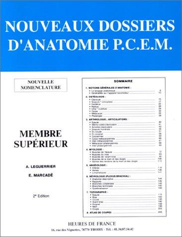 Membre supérieur par A Leguerrier