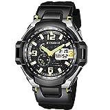 Montre Homme Montre Militaire Sport pour Homme Etanche Chronographe Alarme Date LED...
