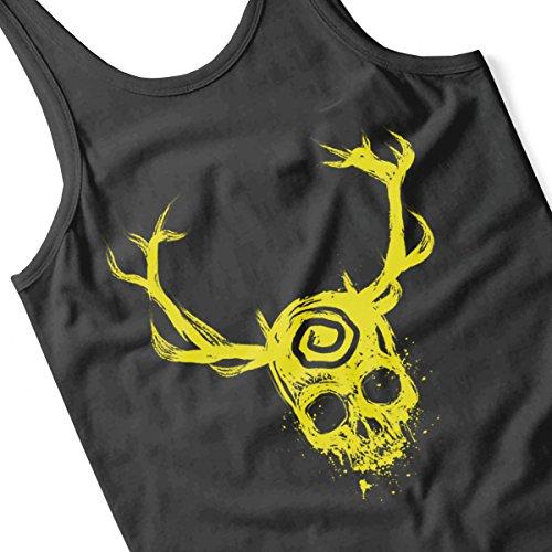 True Detective Yellow King Women's Vest Black