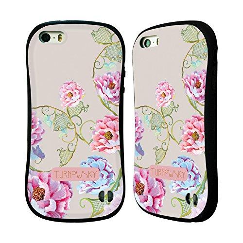 Ufficiale Turnowsky Cielo Floreale Essenza Di Bocciolo Case Ibrida per Apple iPhone 6 Plus / 6s Plus Lacci Floreali