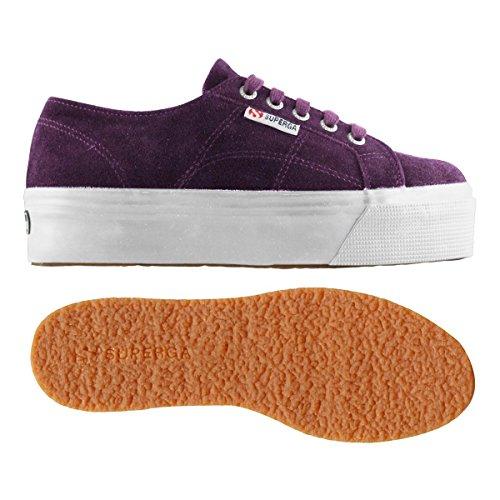 Superga 2790-Suew, Sneaker, Donna Purple