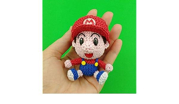 Baby rosalina di crochet fatto a mano peluche amigurumi regalo