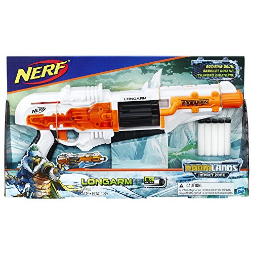 Hasbro B7400 Nerf Doomlands Impact Zone Longarm (Nerf N-Strike Elite kompatibel) -