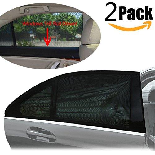 sonnenschutz auto baby 2 st ck pemotech flexibel. Black Bedroom Furniture Sets. Home Design Ideas