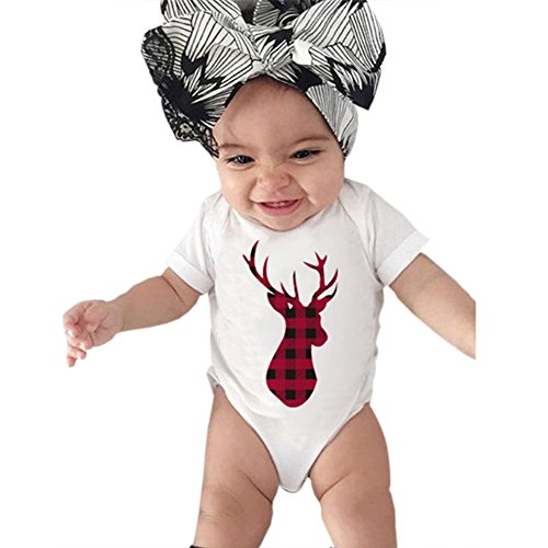 Etbotu Strampler für Kleinkind Neugeborenes Baby, Langarm Rundhals Strampler + Lange Hosen + Hut Jungen Brief Gedruckt 2 stücke Kleidung Set (Stück Mädchen 3 Kleinkind Carters)