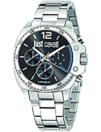 Just Cavalli Herren-Armbanduhr JUST ESCAPE Analog Quarz Edelstahl R7253213001