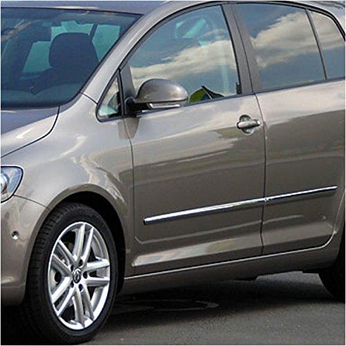 Akhan KS1102 - Edelstahl Türleiste Zierleiste 4 Stück geeignet für VW GOLF 5 (04-09)