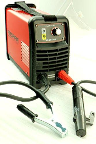 Preisvergleich Produktbild ABSAAR AB-ZX130G Elektroden Schweißgerät Inverter 130 Ampere, Rot