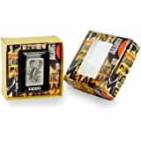 Zippo briquet 1.330.006.1 scorpion emblem - grande-coffret cadeau, special edition, chrome brossé