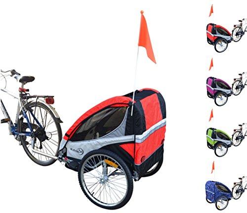 PAPILIOSHOP EAGLE Kinderanhänger fahrradanhänger jogger 1 oder 2 kinder