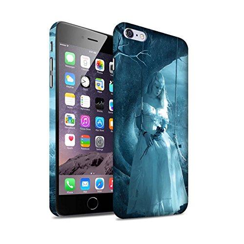 Officiel Elena Dudina Coque / Clipser Matte Etui pour Apple iPhone 6S+/Plus / Diamants congelés Design / Art Amour Collection Luz Sombra