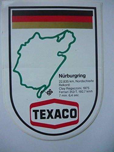 pegatinas-motor-sport-texaco-nurburgring-clay-regaz-regazzoni-talla-ca-14-x-10-mm