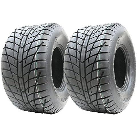 2 PC 20x10.00-9 4ply neumáticos P354 Wanda ATV E marcados camino legal