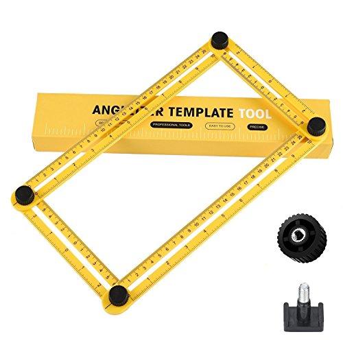URXTRAL Messgerät angle-izer Vorlage Werkzeug viereckigen Lineal Mechanismus Slide Y für Handwerker