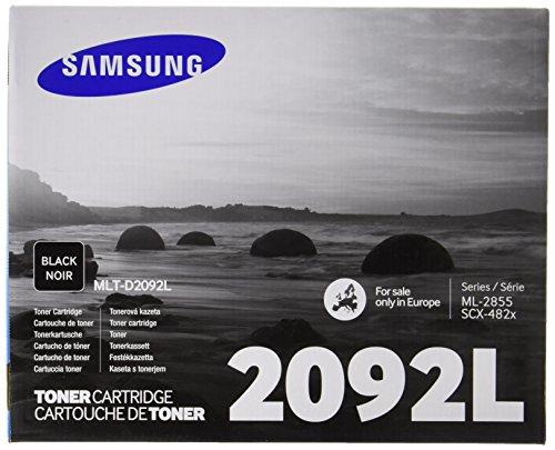 Samsung MLT-D2092L/ELS Original Toner (Trommel, Hohe Reichweite, Kompatibel mit: ML-2855 SCX-4824/SCX-4825/SCX-4828 Series) schwarz