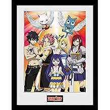 GB eye, de Fairy Tail temporada 2Key Art, enmarcado impresión 30x 40cm, varios