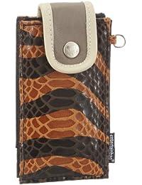 Poodlebags  entertainbag - Zebra - brown, Portemonnaies femme