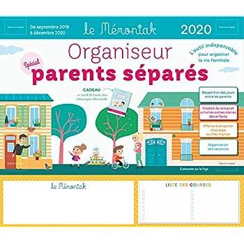 Organiseur Parents Separes Memoniak 2019-2020