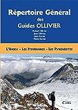 Répertoire général des guides Ollivier index itinéraires pyrénéistes