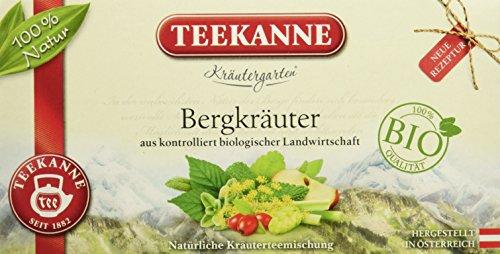 Teekanne Österreich Kräutergarten Bio Bergkräuter, 1 Pack (40 g)