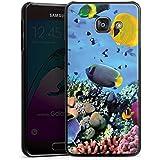 Samsung Galaxy A3 (2016) Housse Étui Protection Coque Sous-marin Poissons Tortue