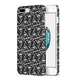 Black Illuminati Pattern Apple iPhone 7 PLUS Snap-On Hard Plastic Protective Shell Case Cover Tasche Handy Hülle -