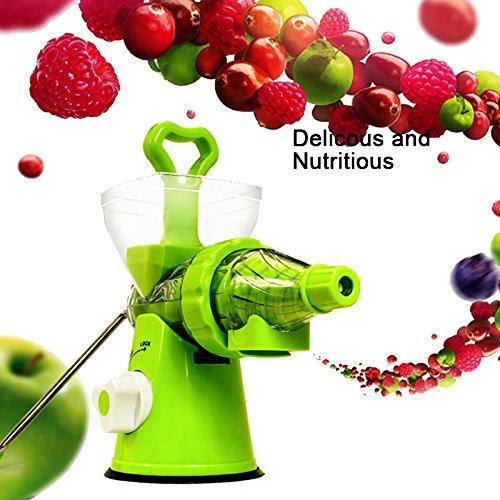 Multifunktionaler Küche manuelle Handkurbel Single Schnecke Entsafter mit Saugfuß Hand Entsafter für Wheatgrass Obst Gemüse