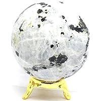 Healing Crystals India Dekokugel mit natürlichem Edelstein, 40-50 mm preisvergleich bei billige-tabletten.eu