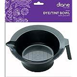2 pieces : Diane Tint Color Mixing Bowl, Black -2 pieces