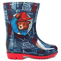 laylawson Kids Paddington Peru PVC Wellington Boots