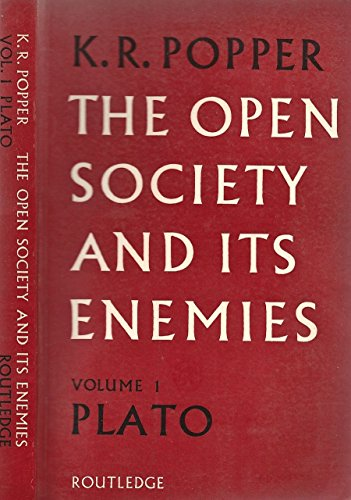 The Open Society and its Enemies Vol. I. The spell of plato.