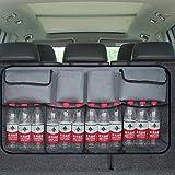 Dancepandas Kofferraum Organizer, Auto Organizer mit großen Netz-Taschen,Sitztasche,Auto Aufbewahrungstasche,Rücksitz Organizer Auto-Sitztasche der Platzsparer für Mehr Ordnung