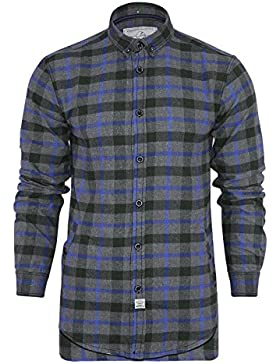 Jack South - Camisa casual - Manga Larga - para hombre