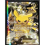 Pokemon company Pikachu EX Black Star Promo XY124 Red and Blue Collection by