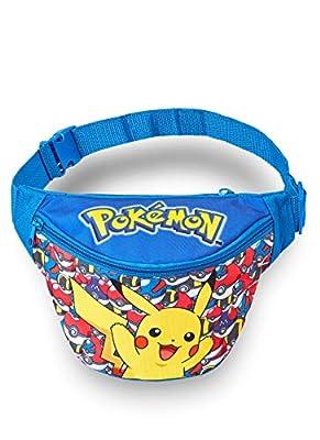 Pokémon Riñonera | Bolsa De Pikachu para Niño | Riñonera para Niños, Riñonera Ligera | Riñoneras para Exterior, Deporte, Escuela | Regalo para Niños 3 4 5 6 7 8 9 10 + Años