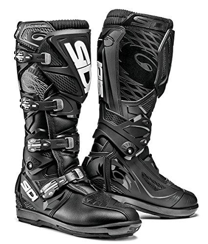 Sidi X-Treme SRS - Botas para motocicleta , Negro, 47 EU