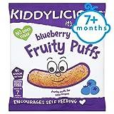 Kiddylicious Blueberry Fruity Puffs 10G