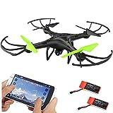 DAZHONG UDIRC FPV Drone 2.4Ghz RC Quadcopter mit Wifi HD Kamera, Höhe halten und Flugroute-Einstellungs-Modus, kopfloser Modus mit Inklusive Bonusbatterie