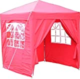 Airwave Pop-Up-Pavillon, 2 x 2 m, rot